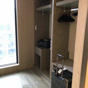 グランドメイフルホテル(美福大飯店)の金庫がある小さな部屋。