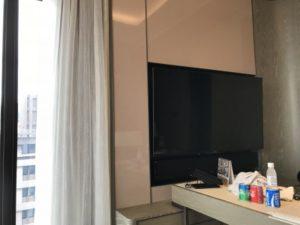 グランドメイフルホテル(美福大飯店)のテレビ。