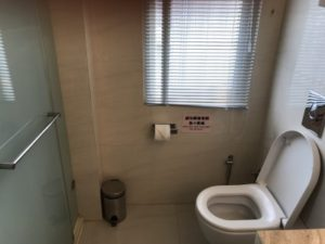 台湾SPAホテルのトイレ。