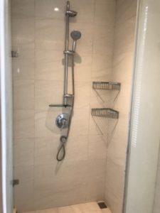 台湾SPAホテルのシャワールームの写真