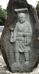 台湾日月潭の玄光寺を散歩しながら撮った写真①