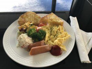 台湾SPAホテル朝食の写真
