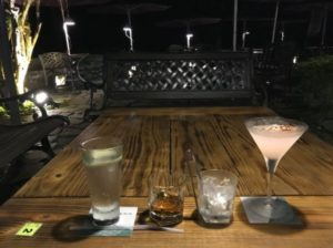 日月潭周辺にあるBARで飲んだカクテル