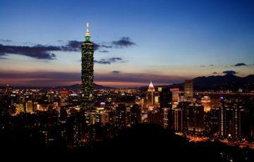 台北の夜景