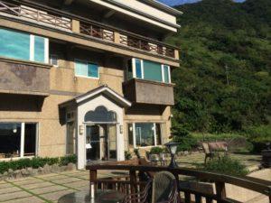 台湾九份にあるフォルモサ ・アルカディアン・ヴィラホテル入り口