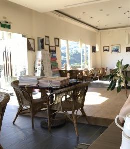 台湾九份にあるフォルモサ ・アルカディアン・ヴィラホテルの1階ロビー③