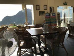 台湾九份にあるフォルモサ ・アルカディアン・ヴィラホテルの1階ロビー②