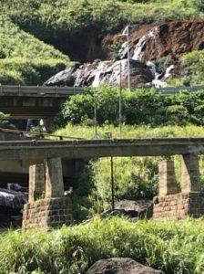 台湾九份にある有名な滝②
