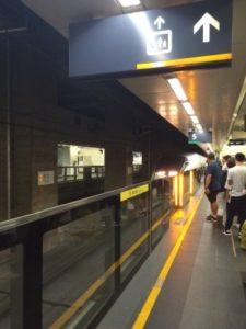 台北駅で撮った、台湾高速鉄道700T型電車①