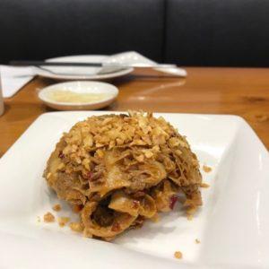 台湾のティンタイフォンで食べたハチノス